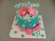 Awesome+Birthday+Cakes+For+Girls | Tracey made this for one of her triplet's most recent birthdays. Isn't ...