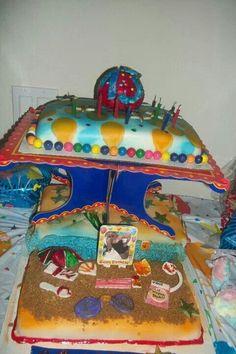 Vanessa bday cake