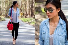 6 Style Tips for Cute & Comfortable Road Trip Outfits Casual Outfit cute business casual outfits Legging Outfits, Cute Outfits With Leggings, Cute Leggings, What Is Business Casual, Business Casual Outfits For Women, Business Outfits, Road Trip Outfit, Weekend Outfit, Ways To Wear A Scarf
