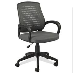 Leick Gray Mesh Vented Back Office Chair >>> Click image to review more details.(It is Amazon affiliate link) #comments