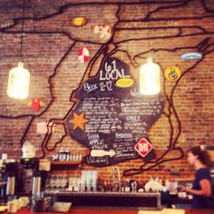 61 Local in Brooklyn, NY —great community cafe + craft beer bar!