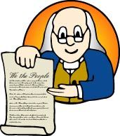 Historical documents and other activities and resources for teaching elementary kids about the government