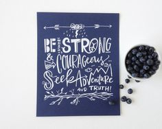 Lindsay Letters - Come Thou Fount Print