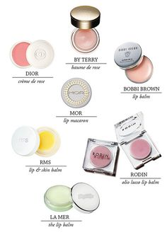 {style inspiration   in my make-up bag : a few favourite lip balms} by {this is glamorous}, via Flickr