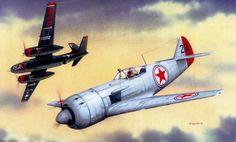 Lavochkin La-11 vs A-20 Havoc