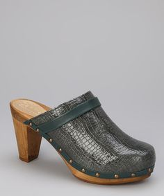 Take a look at this Stone Wood Esmeralda Plateau Clog - Women by Sanita on #zulily today!