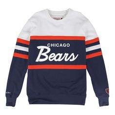 Head Coach Crew Chicago Bears - Shop Mitchell   Ness NFL Fleece and  Sweatshirts 7d63a341b