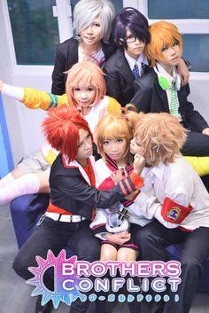 haruka(SiU遙) Wataru Asahina, Nidnod Wiz(平助) Natsume Asahina, Hajime Kaku(一一) Azusa Asahina, sakurakomei(櫻子鳴) Ema Asahina Cosplay Photo - WorldCosplay