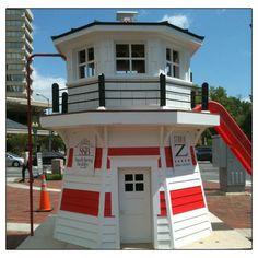 nautical playhouse workout pinterest nautical - Lighthouse Playhouse Building Plans