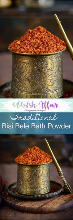 Make your own Bisi Bele Bath Powder Recipe from scratch and take your dish a notch higher. Here is a tried and tested recipe. Best Vegetarian Recipes, Veg Recipes, Indian Food Recipes, Cooking Recipes, Masala Powder Recipe, Masala Recipe, Podi Recipe, Homemade Spices, Homemade Seasonings