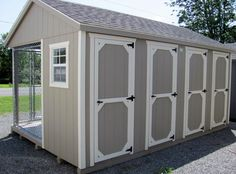 10x16 Dog Kennel *Special Price* | Adirondack Storage Barns