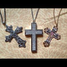 Cross Necklaces <3
