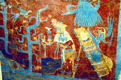 El azul maya presente en Cacaxtla | e-consulta.com Tlaxcala2017