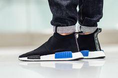 "adidas Originals NMD City Sock ""Black/Blue"""