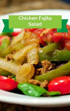 Pati Jinich joined The Chew and prepared her recipe for a Chicken Fajita Salad that will fill you up in a way you can feel good about!