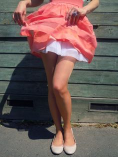 flirty skirt. every girls needs one.