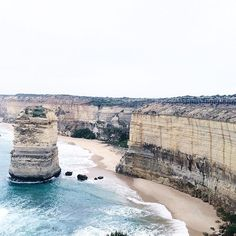 Feeling blue.  #Australia #AUS #Melbourne #Mel #Wednesday #hkig #ig #holiday #happiness #WHD #WH #lifeisonlyone #winter #human #city #whatislife #travel #working #rainning #greatoceanroad #apollobay #victoria #sea #12apostles #twelveapostles #badmood #blueisthewarmestcolor #stone by nganping http://ift.tt/1ijk11S