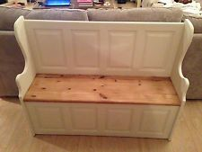 Church Pew / Monks Bench / Bench / Hall Seat with Storage