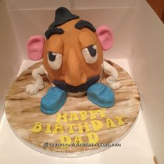 Coolest Mr. Potato Head Cake for Dad... Coolest Birthday Cake Ideas