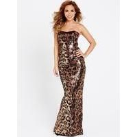 Buy Myleene klass Klass Sequin Leopard Print Maxi Dress £34.99 from Women's Maxi Dresses range at #YouShopping.co.uk Marketplace. Fast & Secure Delivery from Bargain Crazy online store.