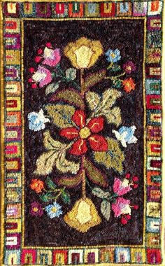 Honey Bee Hive rug hooking pattern from our CHARCO line. Nice and Easy, Designed by Jane McGown Flynn Rug Hooking Designs, Rug Hooking Patterns, Rug Patterns, Honey Bee Hives, Latch Hook Rugs, Hand Hooked Rugs, Penny Rugs, Tear, Weaving