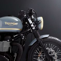 The British manufacturer, Triumph Motorcycle, introduced the latest addition to their scrambler motorbike lineup. Triumph presents the Scrambler 1200 with this Triumph Scrambler, Triumph Cafe Racer, Triumph Motorcycles, Cafe Racers, Cafe Racer Motorcycle, Triumph Bonneville, Cool Motorcycles, Vintage Motorcycles, Indian Motorcycles