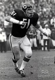 Chicago Bears - Dick Butkus - Jersey Number 51 Retired  ... best FOOTBALL player I ever saw