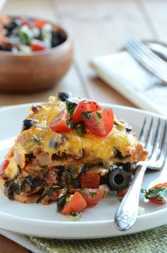 {Kid-Friendly} Veggie-Heavy Taco Pie by An Edible Mosiac