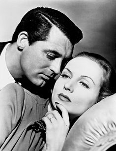 Cary Grant and Carole Lombard - publicity shot for In Name Only (1939)