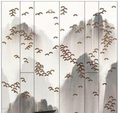 واجهات المحلات التجاريه Chinese Element, 3d Texture, Artwork Images, Chinese Painting, Hanging Art, Textured Walls, Installation Art, New Chinese, Art Forms