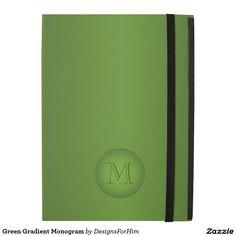 Green Gradient Monogram
