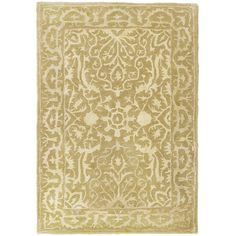 Silk Road Ivory Indoor Rug