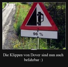 Die Klippen von Dover sind nun auch befahrbar :)