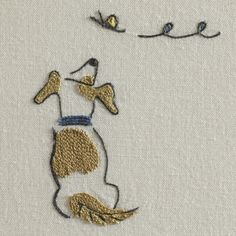 Marvelous Crewel Embroidery Long Short Soft Shading In Colors Ideas. Enchanting Crewel Embroidery Long Short Soft Shading In Colors Ideas. Butterfly Embroidery, Crewel Embroidery, Hand Embroidery Patterns, Embroidery Applique, Cross Stitch Embroidery, Machine Embroidery, Embroidery Designs, Embroidery Thread, Marie Suarez