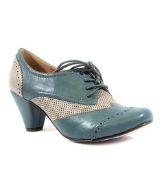 Look at this Blue & Gray Matrix Pump on #zulily today!