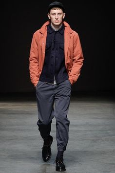 YMC Autumn/Winter 2014 Individual East London Smart Casual Fashion Show @ London Collections: Men | SAMUEL JING