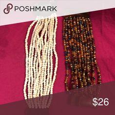Two bracelets Two beaded bracelets Jewelry Bracelets