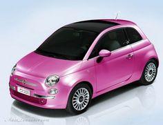 Fiat 500 Barbie : La Voiture Girly