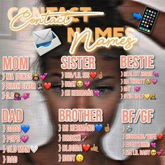 Cute Snapchat Names, Noms Snapchat, Nicknames For Friends, Boyfriend Nicknames, Foto Instagram, Instagram Quotes, Group Names Ideas, Cute Names For Boyfriend, Instagram Captions For Selfies