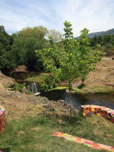 Piscina natural de Descargamaria. Extremadura, España (Spain), verano 2014.