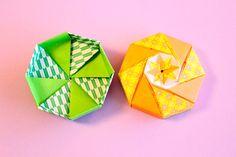 折り紙で八角形の箱の折り方 Origami Box, Container, Handmade, Paper Boxes, Envelopes, Boxes, Paper Envelopes, Crafts, Creativity