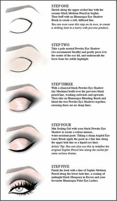 5 step eye shading #eyemakeup