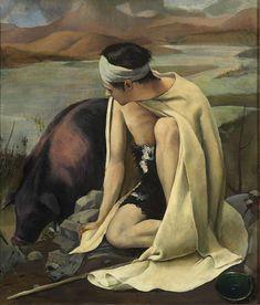 'The Prodigal Son' (1925) by Baccio Maria Bacci
