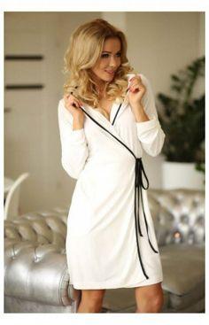Robe de Chambre ALEGRANZA (wis) Ecru Kalimo 63804 7abd840321