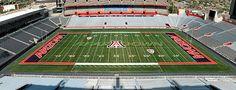 Arizona Stadium, home to the Wildcats. PAC-12