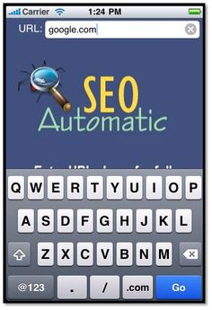 iPhone Seo Automatic App for Bloggers