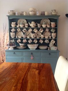 Shabby Chic Wooden Dresser, Duck Egg Blue | eBay - one dresser coming up...can hardly wait