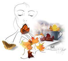 """Fall"" by mljilina ❤ liked on Polyvore featuring art"