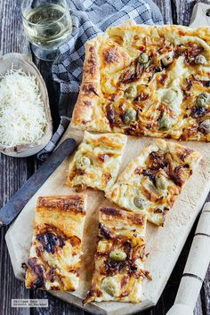 Pizza Recipes, Veggie Recipes, My Recipes, Favorite Recipes, Quiches, Good Food, Yummy Food, Salty Foods, Veggie Delight