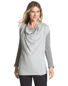 Chico's Women's Zenergy Dina Fabric-Mix Jacket